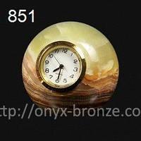 Шар часы из оникса