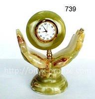 Часы  На  Две  ладони  из  оникса, фото 1