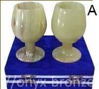 Бокалы/стаканы/фужеры/чаши оникс набор из двух штук