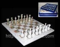Шахматы из оникса