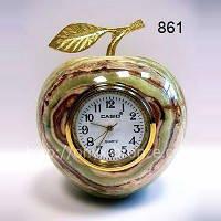 Часы Яблоко из оникса