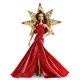 Коллекционная кукла Барби Праздничная Barbie Holiday Teresa 2017 Шатенка DYX41