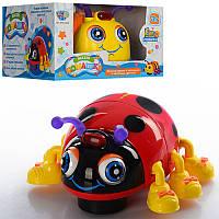 Жук музыкальный Limo Toy 82721 ABCD (Веселі комашки)