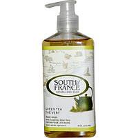 South of France, Средство для мытья рук с успокаивающим алоэ вера и зеленым чаем, 8 унций (236 мл)
