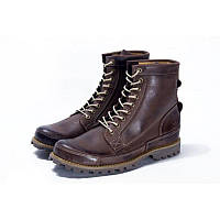 Ботинки Timberland Rugged High Brown (с мехом) мужские тимберленд