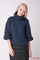 Зимний женский теплый свитер