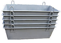 Ящик строительный для раствора, контейнеры 0,5/1/1,5 куб, фото 1