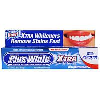Plus White, Экстра отбеливание с пероксидом, мятная зубная паста, 2,0 унции (60 г)