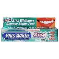 Plus White, Отбеливание зубов и предотвращение образование зубного камня, прохладный мятный гель, 3,5 унции (100 г)
