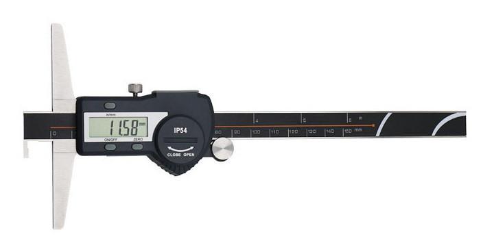 Штангенглубиномер с крючком Shahe 0-150 мм/0,01 мм (5113-150A)