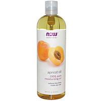 Now Foods, Now Foods, Solutions, Абрикосовое масло, 16 жидких унций (473 мл)