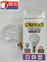 Led лампа 4W E14 4200К ELITE-4 Horoz Electric