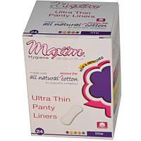 Maxim Hygiene Products, Ультра тонкие легкие ежедневные прокладки, 24 шт
