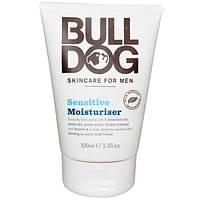 Bulldog Skincare For Men, Чувствительный увлажнитель, 100 мл (3,3 жидких унций)