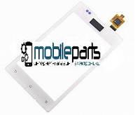 Оригинальный Сенсор (Тачскрин) для Sony C1503 Xperia E | C1504 | C1505  | C1604 Xperia E Dual | C1605 (Белый)