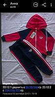Костюм спортивный с капюшоном 2-нить на мальчика 4, 5, 6 лет в упаковке.