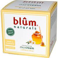 Blum Naturals, Увлажняющий дневной крем, мед и ромашка, 50 мл (1,69 унции)