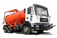 Аренда комбинированной уборочной машины КрАЗ 6511Н4\ 5401Н2