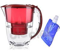Фильтр-кувшин Аквафор Аметист + бутылка воды