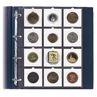 Лист для монет в картонных холдерах 67Х67мм - SAFE Pro