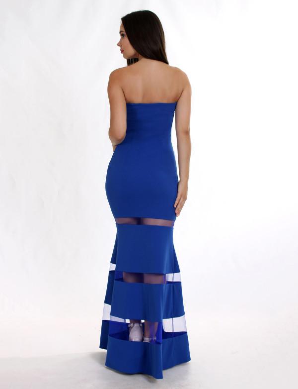 Сукня Авріл електрик вечірнє, фото 3