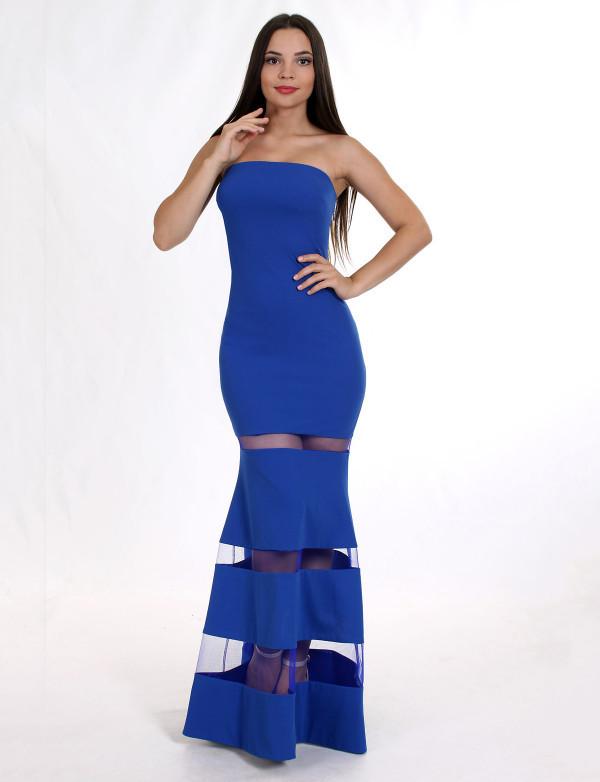 Платье женское электрик вечернее ENIGMA MKENG 2075