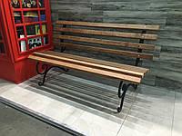 Скамейка без перил 1.5м. Второй сорт