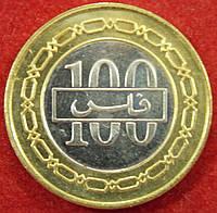 Монета Бахрейна. 100 филсов. 2005 г.