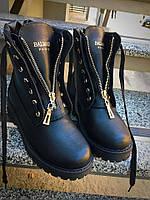 Демисезонные ботинки в стиле Bai)ain натуральная кожа
