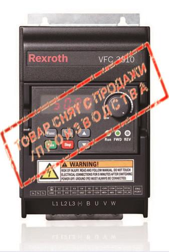 Частотный преобразователь EFC3610 0.75 кВт 1-ф/220 R912005699