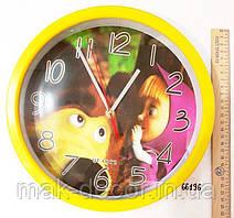 Детские настенные часы Маша и Медведь Quartz 68196