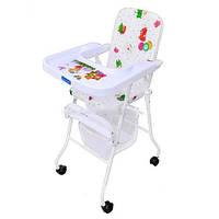 Детский стульчик для кормления Bambi M 0397