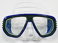 Маски для снорклинга IST Corona; прозрачно-синие