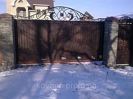 """Кованые ворота от компании """" ПП Брама"""" 2"""
