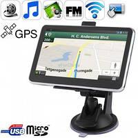 GPS HD навигатор 5 дюймов 4gb Cortex-A7 800mHz