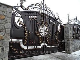 """Кованые ворота от компании """" ПП Брама"""" 3"""