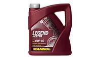 Моторное масло MANNOL LEGEND+ESTER SAE 0W-40 (4л)