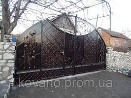 """Кованые ворота от компании """" ПП Брама"""" 5"""