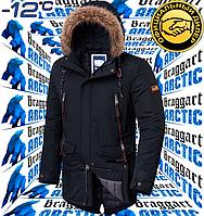 Мужская парка модная Braggart Arctic - 2742 графит