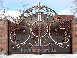 """Кованые ворота от компании """" ПП Брама"""" 8"""