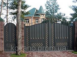 """Кованые ворота от компании """" ПП Брама"""" 11"""