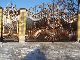 """Кованые ворота от компании """" ПП Брама"""" 12"""