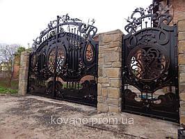 """Кованые ворота от компании """" ПП Брама"""" 13"""