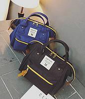 Какркасная мини сумка-рюкзак Anello