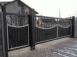"""Кованые ворота от компании """" ПП Брама"""" 19"""
