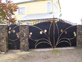 """Кованые ворота от компании """" ПП Брама"""" 21"""