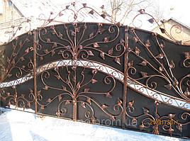 """Кованые ворота от компании """" ПП Брама"""" 22"""