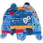 Шапка детская вязаная на подкладке для мальчика, фото 3