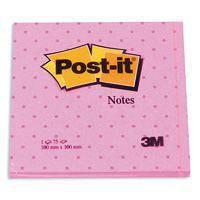 3М Post-It   стикеры c фоновым рисунком 100х100 мм блок 100л