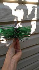 Ерш для чистки дымохода пластиковый под резьбу, фото 2